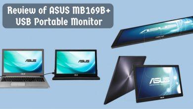 Review of ASUS MB169B+ USB Portable Monitor