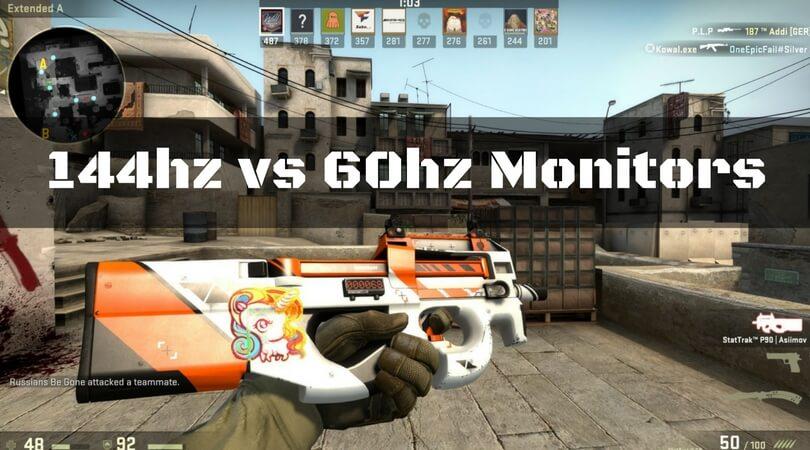 144hz Monitor vs 60hz Monitors - Top Comparison