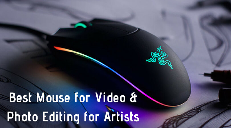 Best Mouse for Video and Photo Editing for Artists