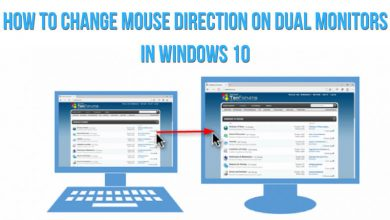 How to Change Mouse Direction on Dual Monitors in Windows 10