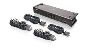 IOGEAR 4-Port DVI KVMP