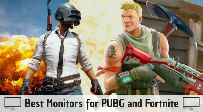 Best Monitors for PUBG and Fortnite