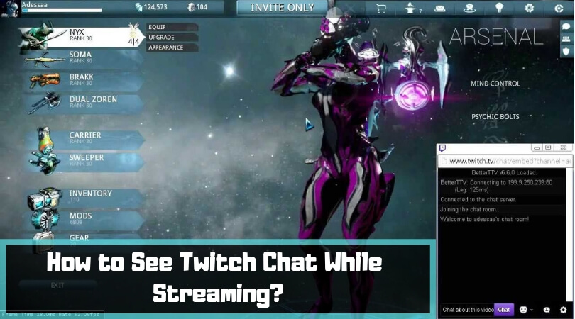 How to See Twitch Chat While Streaming