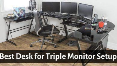 Best Desk for Triple Monitor Setup
