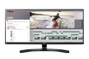 LG Electronics 34UM88-P UltraWide Screen LED-Lit Monitor for DAW