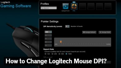 How to Change Logitech Mouse DPI