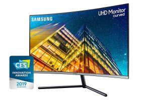 2. Samsung 32-inch 4K Curved Monitor