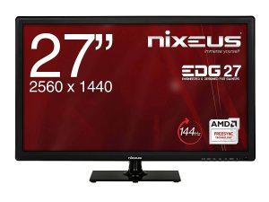 Nixeus EDG 27-inch IPS WQHD Gaming Monitor