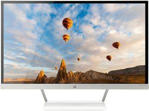 HP 27er IPS LED Monitor, White (T3M88AA)