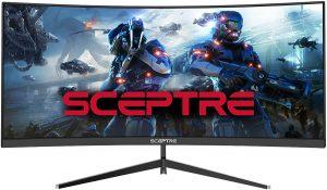 Sceptre 30-inch UltraWide Monitor, Metal Black (C305B-200UN)