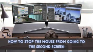 How to stop the mouse from going to the second screen