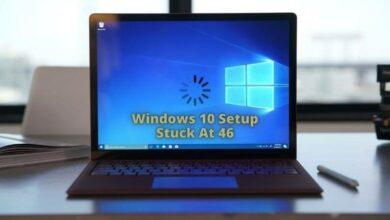Windows 10 Setup Stuck At 46