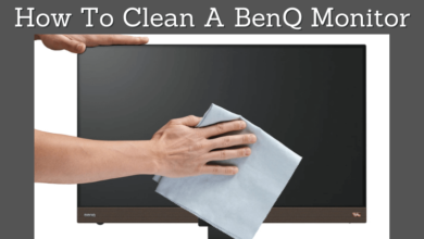 How To Clean A BenQ Monitor